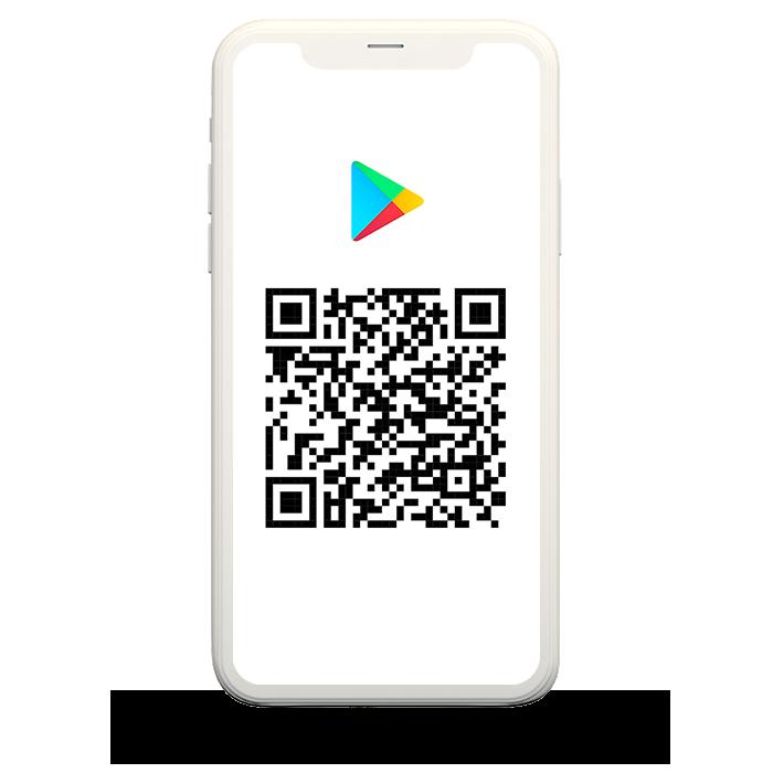QR code para a página do aplicativo Nós na Play Store